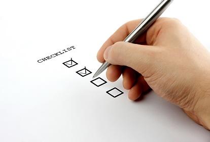Una lista por escrito te ayudará a ordenar tus intereses.