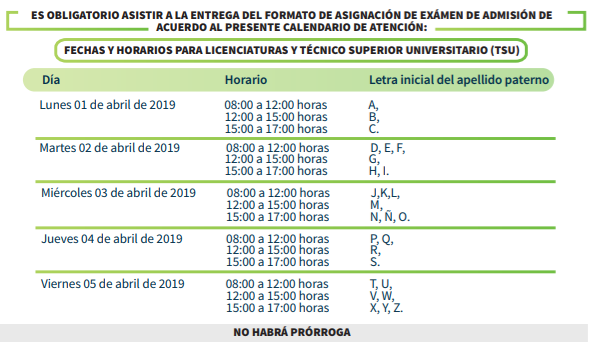 Calendario Examenes Derecho Us.Convocatoria Buap Guia De Admision 2019 Fechas Examen Proceso